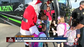 5th annual Shop with a Cop event in Naples