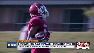 Oklahoma plays coy with Depth Chart ahead of season opener against Houston
