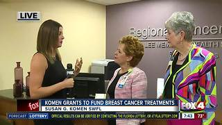 Susan G. Komen grants almost $200,000 to local non-profits for breast cancer patient resources - 7:30am live report