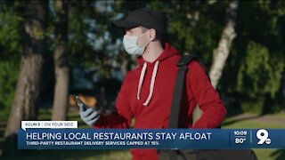 Mayor and council approve 15% cap on third-party restaurant delivery services