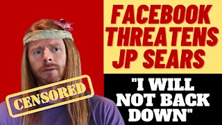 FACEBOOK THREATENS AWAKEN WITH JP OVER COVID COMEDY