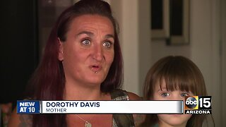 Valley mom shares story of daughter's recovery