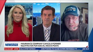 Insurance Company Cancels Former MLB Pitcher For Social Media Posts