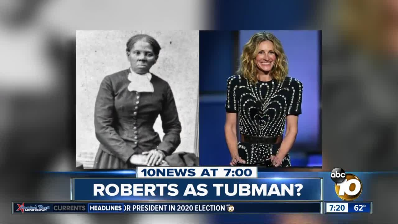 Julia Roberts was considered for the role of Harriet Tubman?