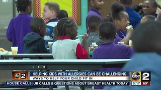 Ways to help your child with allergies fit in - Video