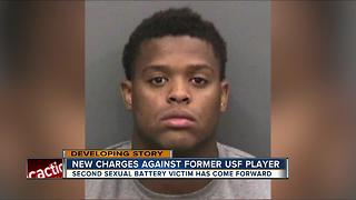 Deputies: USF football player LaDarrius Jackson charged in second sexual battery case - Video