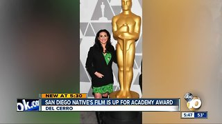 San Diego native's film up for Academy Award