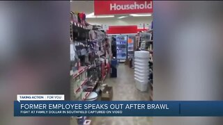 Former employee speaks out after brawl