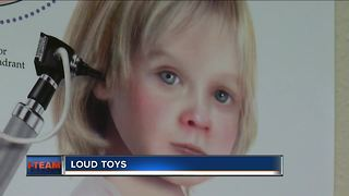 Loud toys could cause hearing damage