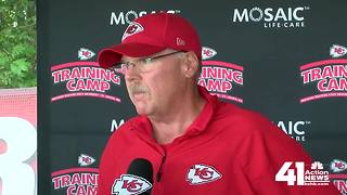 Chiefs prepare for first preseason game