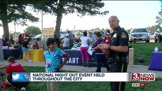 National Night Out event held throughout Omaha