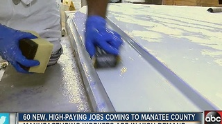 New high-paying jobs coming to Manatee County - Video