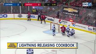 Tampa Bay Lightning launching player-inspired cookbook to benefit Feeding Tampa Bay - Video