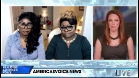 Diamond and Silk interview with Tudor on American Voices