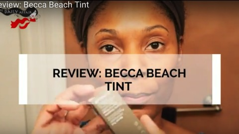 Review: Becca Beach Tint - Raspberry