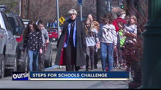 Legislators take a stroll with local students