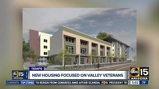 Tempe to open special housing complex for veterans - Video
