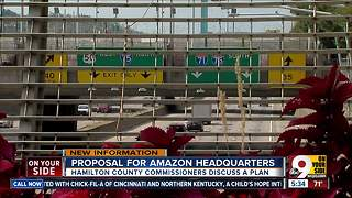 Hamilton Co. commissioners weigh plans to attract Amazon headquarters to Cincinnati - Video