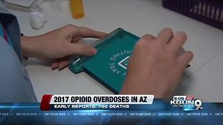 Arizona records more than 700 deaths likely linked opioids - Video