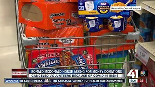 Ronald McDonald House asking for monetary donations