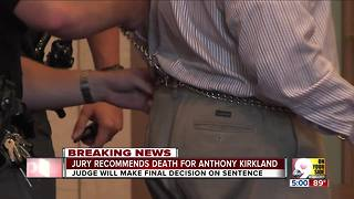 Jury recommends death sentence for serial killer Anthony Kirkland - Video