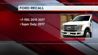 Ford recalling F-150 trucks - Video