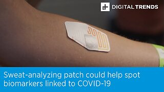Sweat-Analyzing Patch Could Help Spot Biomarkers Linked To COVID-19