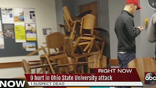 9 hurt in Ohio State University attack