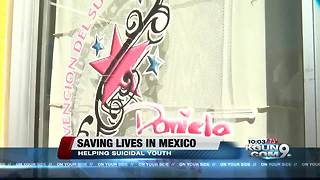 One Mexican family began helping suicidal youth by launching an organization - Video