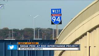 Zoo Interchange to open permanent I-94 westbound lanes, HWY 100 ramps - Video