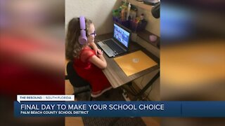 Palm Beach County students facing deadline for educational choice