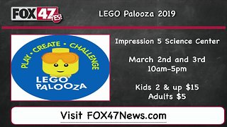 Around Town Kids 3/1/19: Lego Palooza 2019