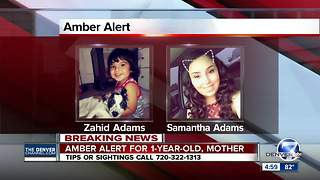 Amber Alert: Search for 1-year-old boy and his mother underway after abduction in Commerce City - Video