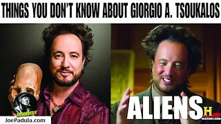 Things you don't know about Giorgio A Tsoukalos