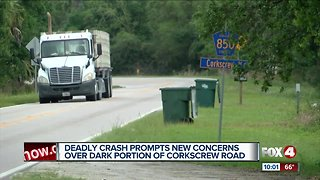 Deadly crash raises questions about safety on Corkscrew Road