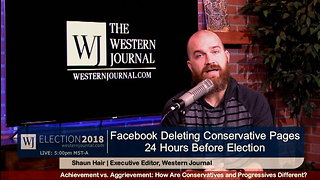 24 Hours Before Election, FB Deletes Conservative Network With 1.5 Million Followers
