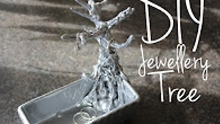 DIY jewelry tree - Video