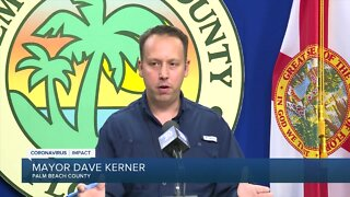 'Nothing is off the table' with closing local economy again, Palm Beach County mayor says