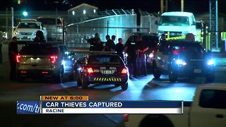 Four in custody in auto lot break-in - Video