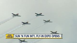 Sun 'n Fun Int'l Fly-In & Expo takes to the skies over Lakeland this week - Video