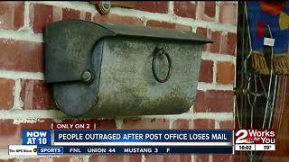 People outraged after post office loses mail