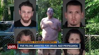 5 arrested after undercover operation unveils illegal activities, Nazi propaganda - Video
