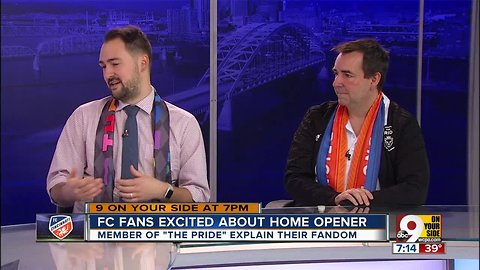 FC Cincinnati fans excited about first MLS home game