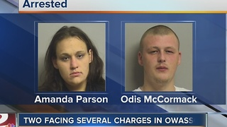Owasso PD: Two arrested for child endangerment - Video