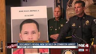 Documents Reveal New Details on Zombicon Arrest - Video