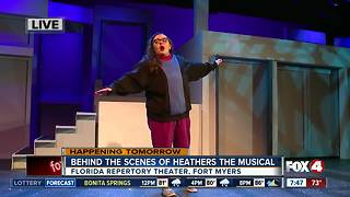 Young artists rehearse for Heathers the Musical - 7:30am live report - Video