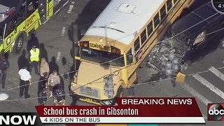 School bus involved in accident in Gibsonton