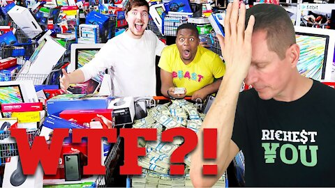 The REAL Problem With Spending $1,000,000 In 24 Hours | Mr Beast & Graham Stephan REACTION