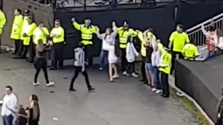 Police Officers Join Fans for Hand-in-Hand Singalong at #OneLoveManchester - Video
