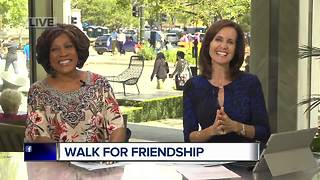 Diana Lewis Walks For Friendship - Video